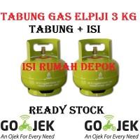 Tabung Gas Elpiji 3 kg Melon ( Tabung + Isi ) ASLI PERTAMINA MURAH