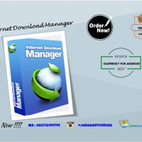 Jual IDM Internet Download Manager 1PC masa aktif seumur hidup garansi