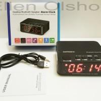 Jam Alarm Dengan Speaker Bluetooth - KD-66
