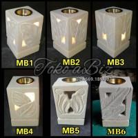 Jual Lampu Tungku Aromaterapi Elektrik Batu Mini + Bonus Oil 2 btl Murah