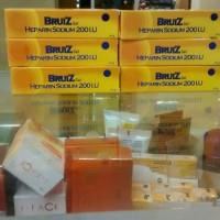 bruiz gel heparin sodium 200iu , obat lebam,kebentur,memar & bengkak