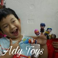 BOBOIBOY GALAXY Mini Figure Finger Dolls YAYA YING GOPAL FANG