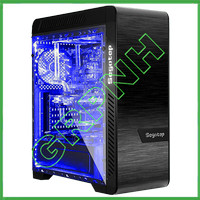 SEGOTEP EOS BLACK - Double Full Side Tempered Glass - USB 3.0