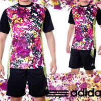 Setelan Futsal / Jersey Futsal / Jersey Bola adidas Flowers