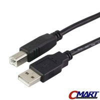 Howell Kabel USB Printer / Scanner 2m 2 meter Cable - HWL-UB2AMBM-200