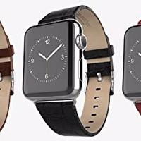 HOT STUFF! Hoco Bamboo Texture Leather Strap Band for Apple Watch 38mm
