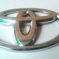 Emblem Lambang TOYOTA utk CALYA depan / Pengganti Emblem Bawaan Garuda