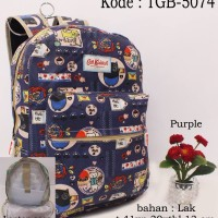 TAS RANSEL CATH KIDSTON PURPLE MURAH LAPTOP CASE