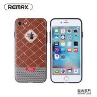 Remax Sinche Series Hard Case for iPhone 7 memiliki bahan hard leather