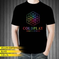 Kaos Band GILDAN Coldplay DTG