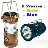 Jual Jual Lampu Lentera MINI + Senter + Solar Powerbank / Camping Lantern Murah