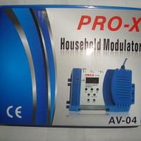 AV To RF Converter (RF Modulator Multi-channel VHF / UHF) Merk Pro-X