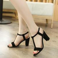 Jual PROMO Sandal High Heels Wanita Hak Tahu SDH154 Murah