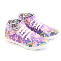 sepatu anak wanita lucu cantik / sepatu anak lukis gambar karakter G5