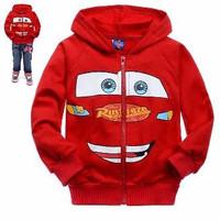 Jaket anak karakter cars