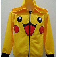 JKKD87 - Jaket Anak Yellow Pokemon Limited Edition + _L57665497KQ