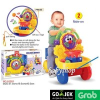 GOJEK/GRAB - BABY WALKER/ RIDE ON/ PUSH WALKER/ Walker Buggy 2 in 1
