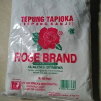 Tepung Tapioca/Tepung Kanji+Rose Band 500gr+Kualitas Istimewa