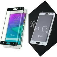Tempered Glass Full Layar Samsung Galaxy Note EDGE /N915 /N9150 Warna