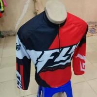 Baju Kaos Sepeda Merah Putih Fly 2017