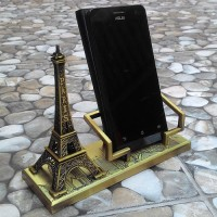 Jual Stand HP Miniatur Menara Eiffel, Dudukan HP, Smartphone Stand, Hadiah Murah