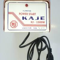 Power Start 1500 w (Alat Penstabil,Stabilizer,TV,AC,Kulkas,Komputer)