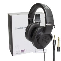 Audio Technica ATH-M20X Monitoring Headphone - Hitam