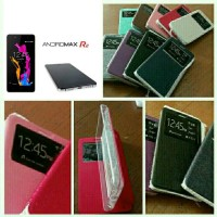 harga Leather Case Flipshell View Smartfren Andromax R2 Tokopedia.com