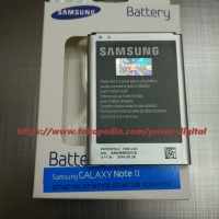 Batre Baterai Battery Samsung Galaxy Note 2 Original 100%
