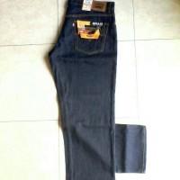 Jual CeLana Jeans Super Jumbo Bahan MeLar Size 45-46 Biru Dongker Murah