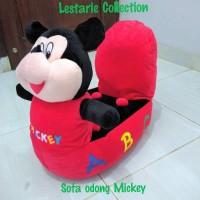 Jual sofa anak/sofa odong Mickey/sofa boneka/boneka mickey Murah