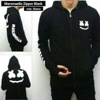 Jaket Pria Marsmelow ziper black