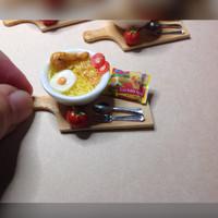 Jual Miniatur Clay Indomie, handmade clau Murah