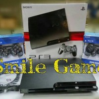 Sony Ps3 Slim Hdd 320gb full game baru