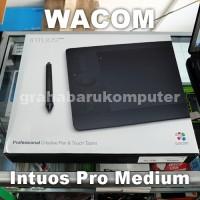 Wacom Intuos Pro Medium PTH651 Pen Tablet Alat Desain Grafis