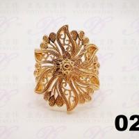 Yaxiya (anting kalung gelang) cincin permata perhiasan gold18k 026