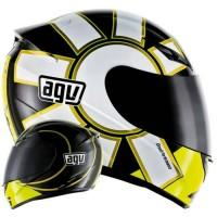Helm Motor Full Face Fullface AGV K3 Rossi VR46 Gothic Murah Original