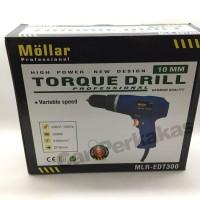 Torque Drill / Mesin Bor Torsi 10 Mm MOLLAR MLR-EDT300 312 008
