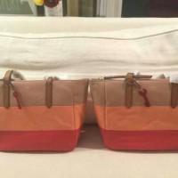 original ori asli tas wanita fossil sydney tote shopper bag totte