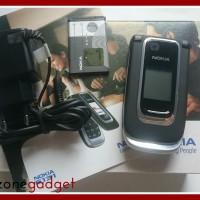 [Promo] Nokia 6131 Flip Black | Nokia Jadul ORI | HP Jadul Murah