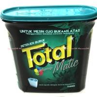 Jual Total Pelangi Matic Deterjen Bubuk Mesin Cuci Bukaan Atas Pintu 1kg Murah
