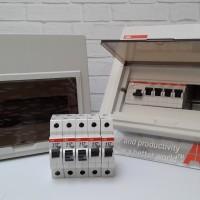 ABB MCB Box - 10 Module - SCP 10 - Inbow FIRE REPELLANT ORIGINAL
