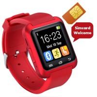 Cognos Smartwatch U8 Delta Gsm Jam Tangan Pintar Anak Muda Keren Merah