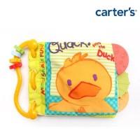 Buku Bayi Anak-Carter's Softbook Teether - Duck