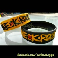 wristband / gelang one ok rock ambitions black / yellow ver