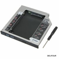 HDD CADDY 9.5 mm - SATA Hard Drive DVD to HDD