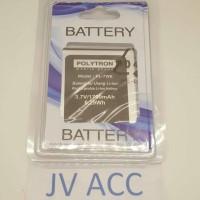 Battery Batre Baterai Original 99% Polytron Quadra V5 W7550 PL-7W6
