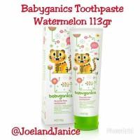 Babyganics Toothpaste Watermelon 113gr
