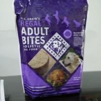 Jual Regal Adult Bites Holistic Dog Food 1.8 KG Murah