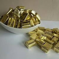 Jual Coklat Delfi Treasure Golden Almond kemasan 1/4 kg - 250 gram Murah